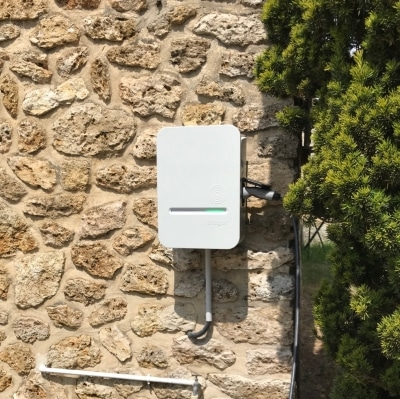 installation borne de recharge hager