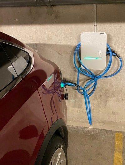Borne de recharge sans abonnement